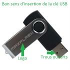 Astuce : Sens d'insertion d'une clé USB