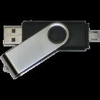 Clé USB Double Connecteur : 2 fois plus de possibilités !