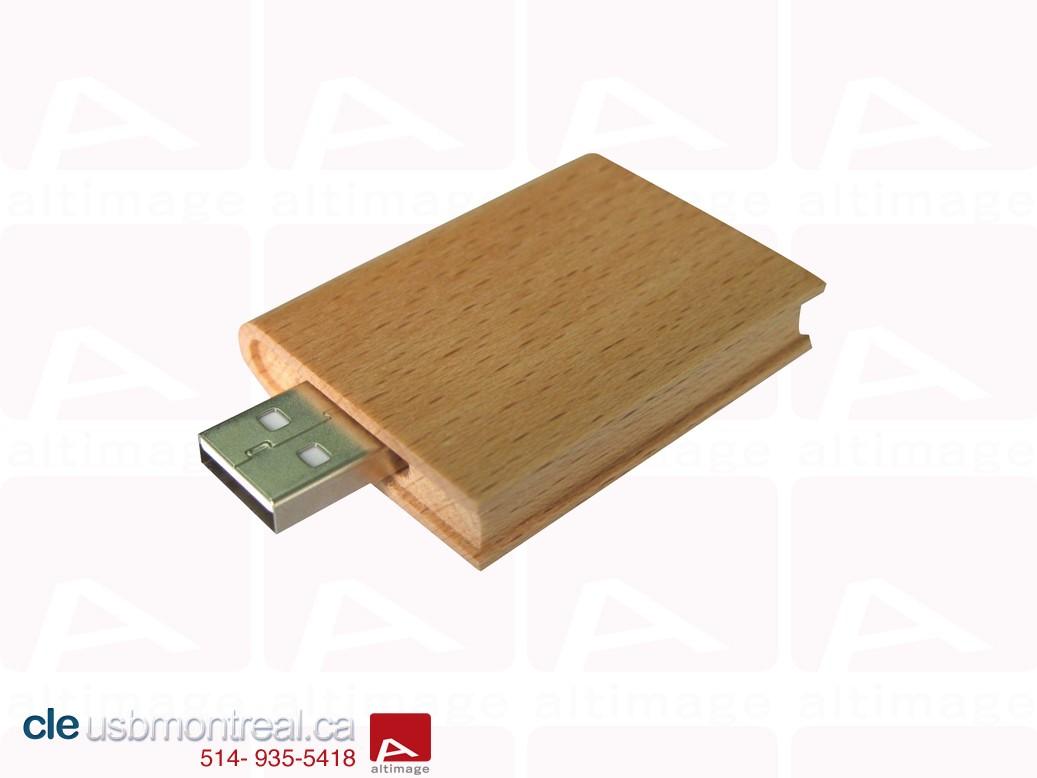 Clés USB en bois du catalogue - cleusbmontreal ca