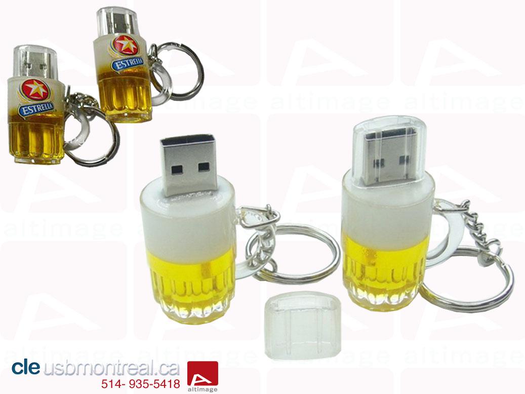 3 nouvelles clés USB Personnalisées
